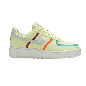 Air Force 1 '07 Low LX Stitched Canvas Life Lime